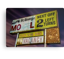 Vincent St. George Motel Metal Print