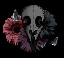 Raven Skull by PrettyMorbid