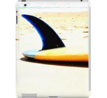 Blue Single Fin iPad Case/Skin