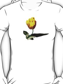 Yellow and Red Tulip T-Shirt