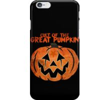 Cult of the Great Pumpkin: Mask iPhone Case/Skin