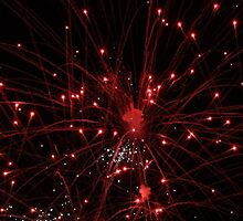 Red Firework by RozeeRossi