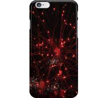 Red Firework iPhone Case/Skin