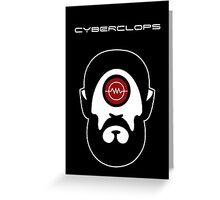 Cyberclops Greeting Card