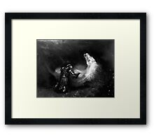 Vex, the main character from DAMAGE (Brotherhood of the Sword) Framed Print