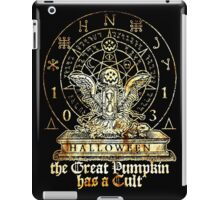 Cult of the Great Pumpkin: Winged Hourglass iPad Case/Skin