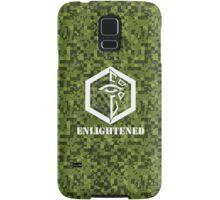 ENLIGHTENED Digital Camouflage - Ingress Samsung Galaxy Case/Skin