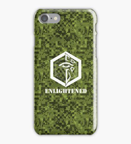 ENLIGHTENED Digital Camouflage - Ingress iPhone Case/Skin