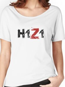 H1Z1: Title - Black Ink Women's Relaxed Fit T-Shirt