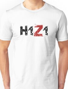 H1Z1: Title - Black Ink Unisex T-Shirt