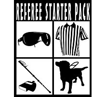 Referee Starter Pack Photographic Print