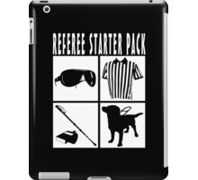 Referee Starter Pack iPad Case/Skin