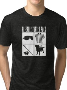 Referee Starter Pack Tri-blend T-Shirt