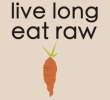 live long (black font, small logo) T-Shirt