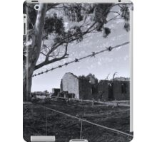 Past Hopes & Dreams - Red Creek Road, Woodchester, South Australia iPad Case/Skin