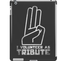 I Volunteer As Tribute iPad Case/Skin