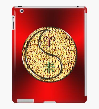Aries & Goat Yin Fire iPad Case/Skin
