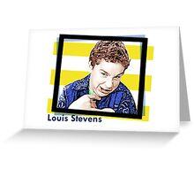 Shia Labeouf Louis Stevens Greeting Card