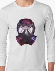 Mercury-Coated Gas Mask Long Sleeve T-Shirt