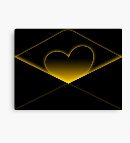 Enclosing my heart inside Canvas Print