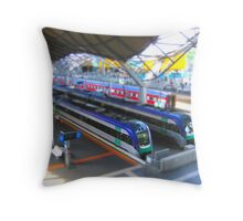 Southern Cross Model Railway Throw Pillow