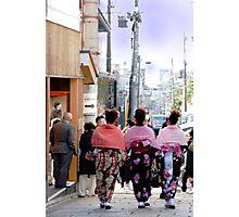 Kimono ? Photographic Print