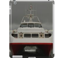 Red Jet 5 arriving at Cowes iPad Case/Skin