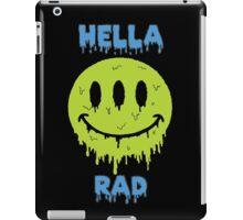 Hella Rad Smiley Face iPad Case/Skin