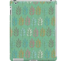 Ornament with leaves iPad Case/Skin