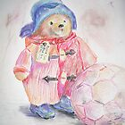 Paddington bear by velvetkatz