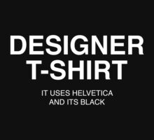 Designer Shirt by unitycreative