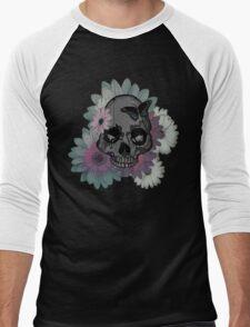 Mathy's Skull Men's Baseball ¾ T-Shirt
