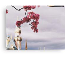 Spring time at Disneyland Canvas Print