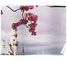 Spring time at Disneyland Poster