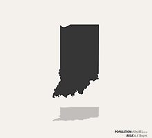 Indiana Map by FinlayMcNevin