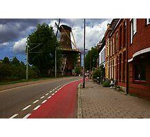 Delft street Photographic Print