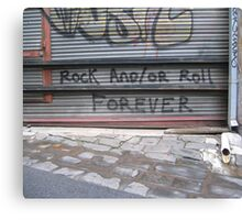 Rock n Roll Canvas Print