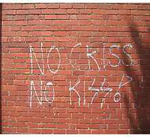 KISS Photographic Print