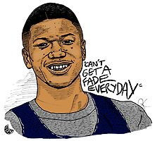Jalen Rose - Can't Get A Fade Everyday  by hermitcrab