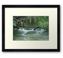 Cascade - Upper Manning River NSW Framed Print