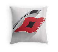 Carolina Hurricanes Minimalist Print Throw Pillow