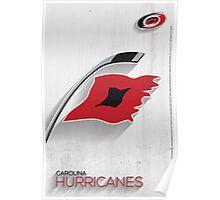 Carolina Hurricanes Minimalist Print Poster