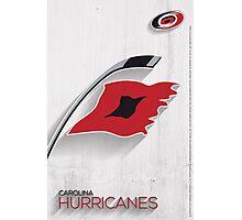 Carolina Hurricanes Minimalist Print Photographic Print