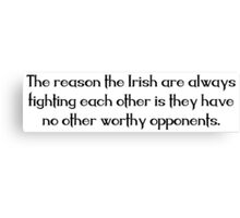 Irish Saying Canvas Print