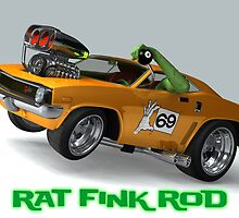 Rat Fink Rod by satansbrand