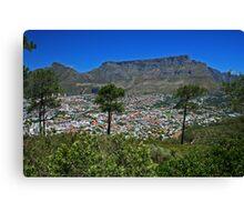 Cape Town Canvas Print