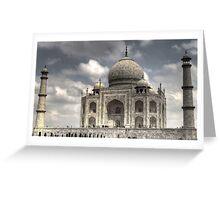 Taj Mahal - Wonder of the World Greeting Card