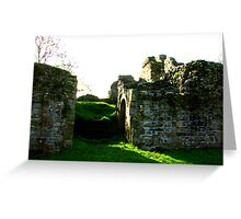 Pendragon Castle #3 Greeting Card