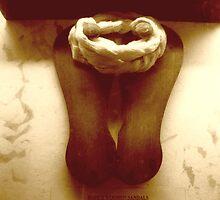 "Bapuji's Wooden Sandal by "" RiSH """