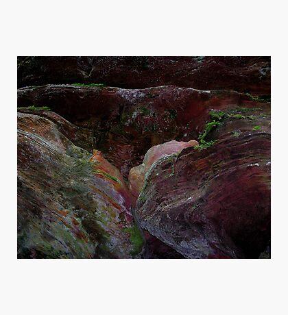 shelves of rock Photographic Print